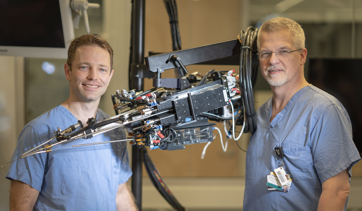 Building New Hand-held Robotics for Endoscopic Surgery